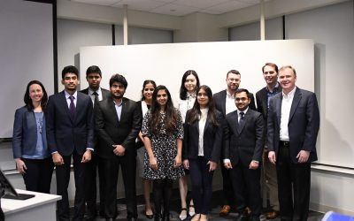 Photo of Voya Data Challenge Student, Faculty and Corporate Participants
